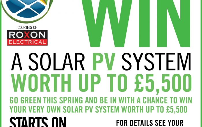 Win a solar PV system